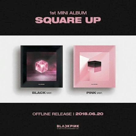 Blackpink [CD] Blackpink 1st Mini Album Square Up 1 34798345_2212021825481894_6106679458884747264_n